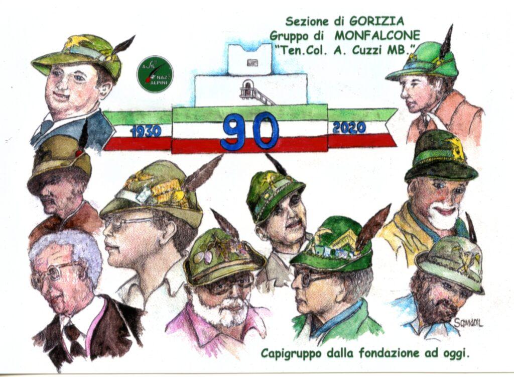 GRUPPO DI MONFALCONE - 90°ANNIVERSARIO DI FONDAZIONE