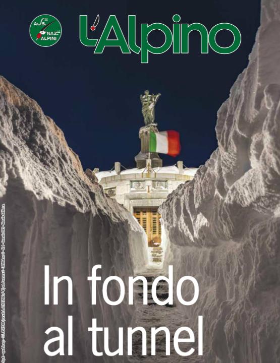 """USCITO IL NUMERO DE """"L'ALPINO"""" DI GENNAIO 2021"""