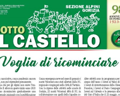 """""""SOTTO IL CASTELLO"""" NUMERO 1 DEL 2021"""