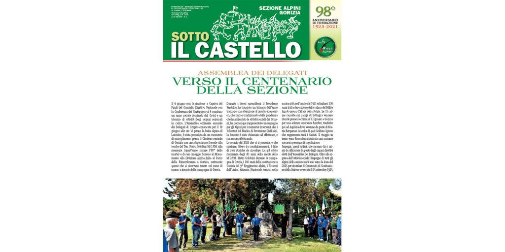 """""""SOTTO IL CASTELLO"""" NUMERO 2 DEL 2021"""
