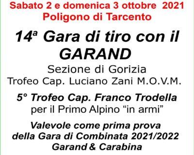 "14^ GARA DI TIRO CON FUCILE GARAND TROFEO ""CAP. LUCIANO ZANI"""